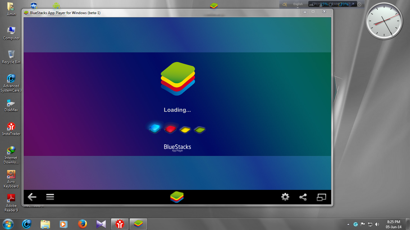 bluestacks app player loading problem